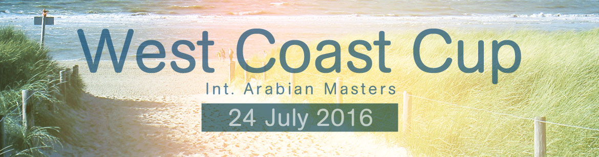 West Coast Cup - Int. Arabian Masters